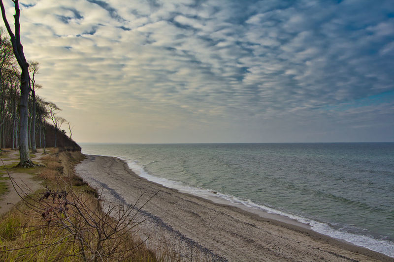 Sea Water Horizon Sky Horizon Over Water Beach Scenics - Nature Land Beauty In Nature Cloud - Sky Tranquility Tranquil Scene Nature Sand No People Outdoors Plant Day Travel Marram Grass