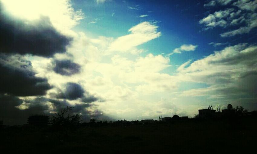 shade of sky Near nyati.