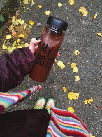 Mybottle Nesquik♡ Coldoutside Fall November