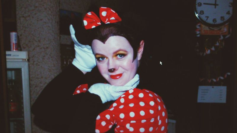 Karneval - Fasching .. Taking Photos That's Me Cheese! Hi! Enjoying Life Party Women Of EyeEm Fasching Karneval Makeup Minnie Mouse