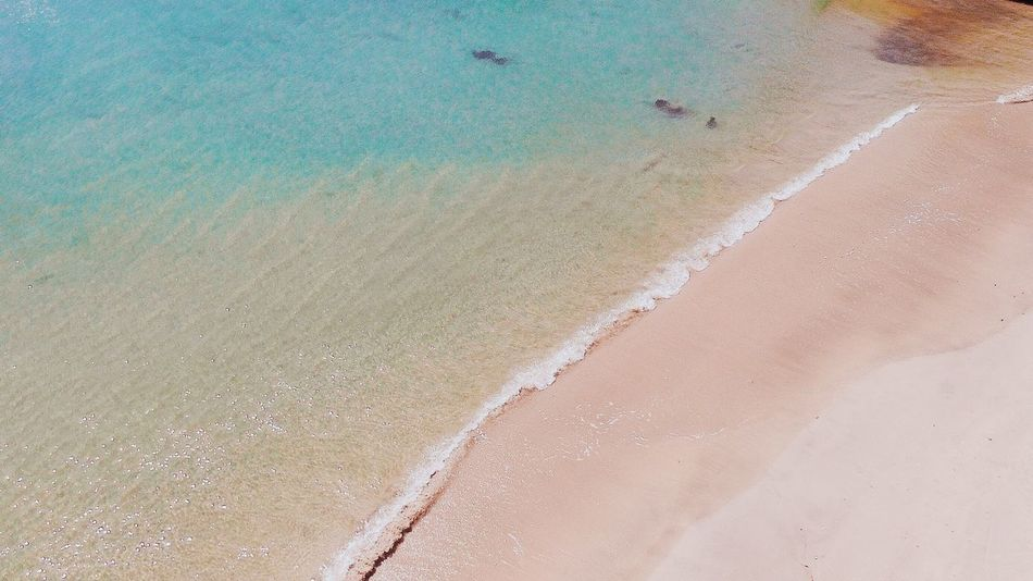Sand Beach Sea Nature Day Water No People Tranquility Travel Destinations Outdoors Beauty In Nature Wave The Week On EyeEm Puerto Rico Aerial Photography Drone Photography Tranquil Scene Shore Scenics Horizon Over Water Landscape High Angle View Waterfront Vacations