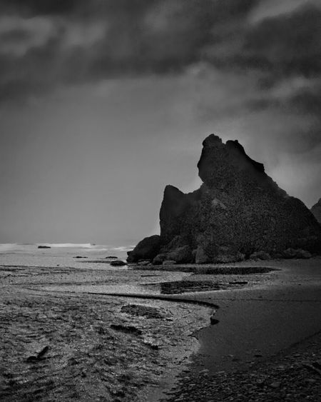 Storm at Ruby Beach. Seascape EyeEm Best Shots - Black + White Nature_collection Blackandwhite Clouds And Sky Monochrome EyeEm Best Shots Nature EyeEm Nature Lover Capture The Moment Landscapes With WhiteWall