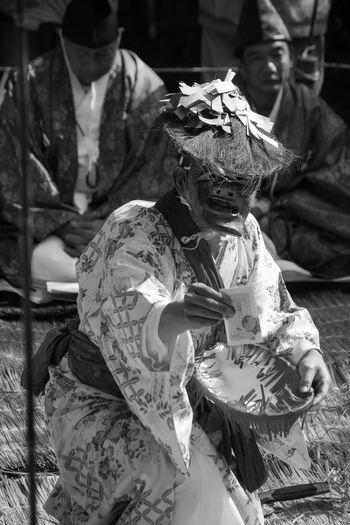 Kagura dance Miyazaki Kagura Ushiodake Kimono Mask 宮崎 神楽 潮嶽 着物 お面