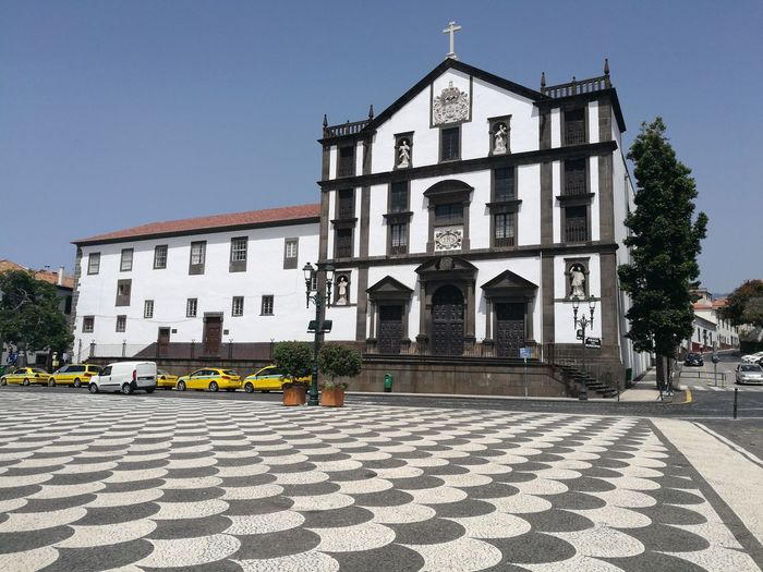 Church of the College, Funchal, Madeira Architecture Building Exterior Day Clear Sky Outdoors Sky Politics And Government Holy Prayer Historic Beauty