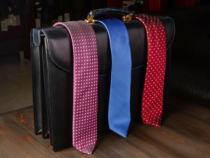 Men's ties are