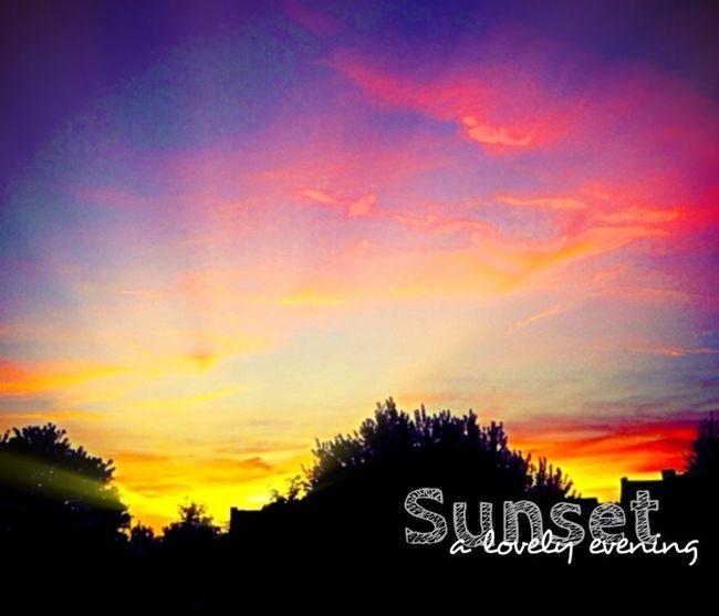 Sun_collection Sunset Sky And Clouds Enjoying Life bonne soirée ...