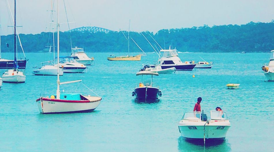 Nautical Vessel Transportation Mode Of Transport Water Sea Beauty In Nature Day Outdoors Scenics Sailboat Nature Mountain Real People Sky Yacht