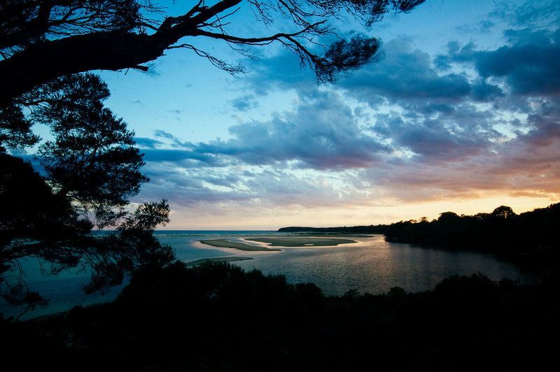 Australia Australian Landscape Beauty In Nature Mallacoota Nature Scenics - Nature Sunset Tranquil Scene