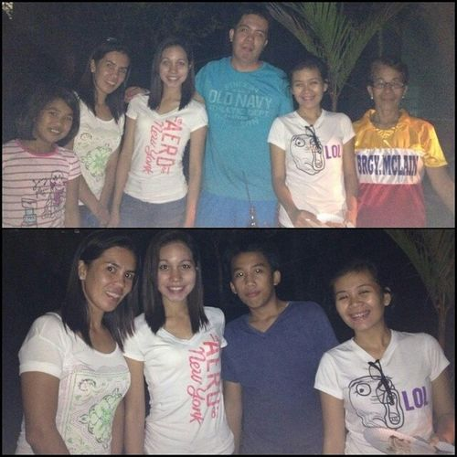 Last night with them :) Auntiechang 's Birthdayparty Surpriseparty