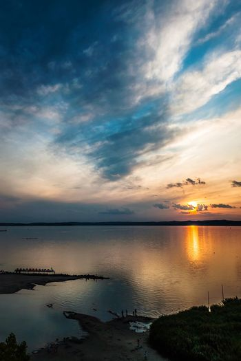 Sunset Check This Out Hello World Taking Photos Sunset EyeEm Nature Lover Clouds Eye4photography  Lake Summer Views