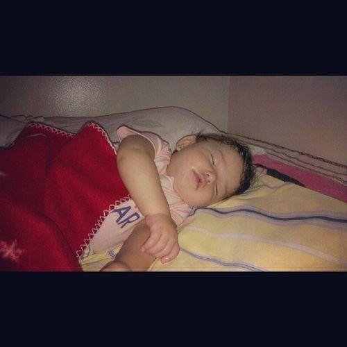 My blankita looks so peaceful when she's asleep :) <3 Littleangel Blankita