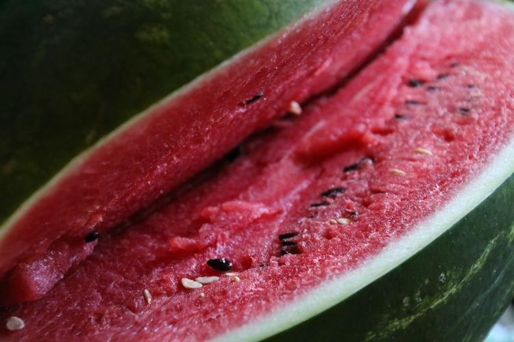 Full frame of watermelon