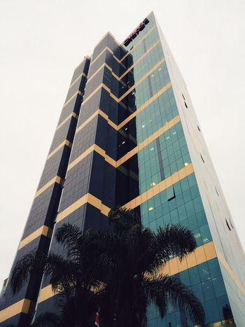 Claro Building Highrise Tower Modern Architecture City Architecture Mobilephotography IPhone Vscocam Lima