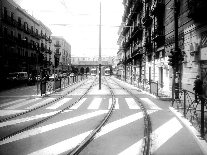 Neighborhood Map Palermo, Italy Built Structure City No People Transportation Architecture Sunset_captures Lines Photography Eyem Best Shots Eyemgallery