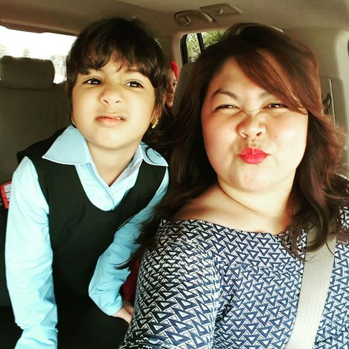 With selfie buddy kooky! Hello World Check This Out Today's Hot Look Having Fun Cuteness Overload!! Everyday Joy Driving Around I LOVE Kids...  Sweetest Thing Wackyface