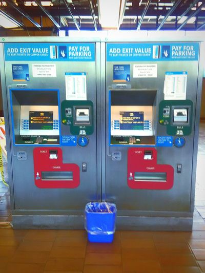 My Commute My Photography Transportation Bart Station Ticket Machines
