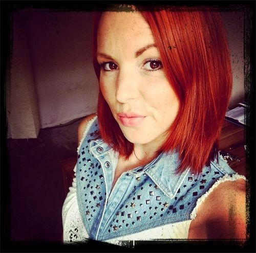Rote Zora Selfie