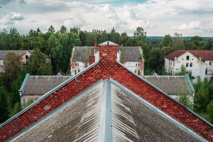 Ruins of the east prussian barracks and psychiatric hospital allenberg world war 2 history