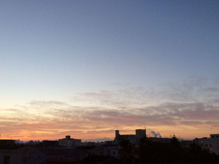 おはようございます☀️ Good Mourning Mourning Glow Taking Photos Before Sunrise Streetphotography