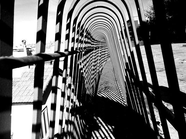 Modern Building Exterior Geometric Shape Lisbon