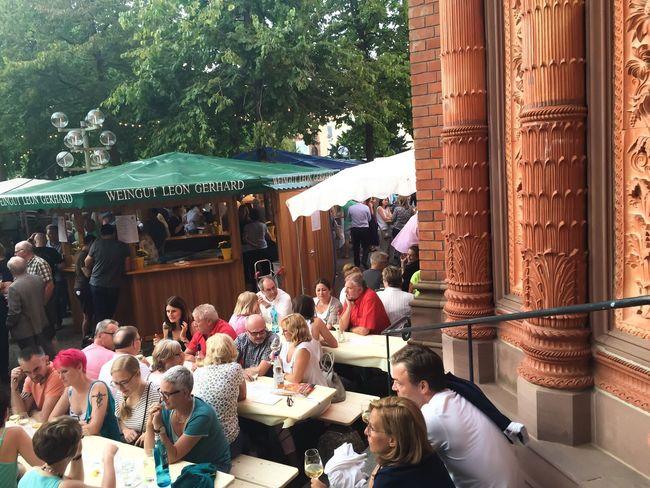 Festival Season Weinfest Wiesbaden Enjoying Life Winelover Wine Country Wine Time Wine Tasting Germany
