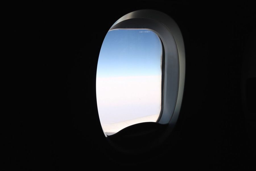 Traveling Home For The Holidays Copy Space Window Clear Sky Dark Nature No People ELLIPSE Indoors  Close-up Day Airplane Wing Airplane Air Plane Welcome To Black Perspectives On Nature
