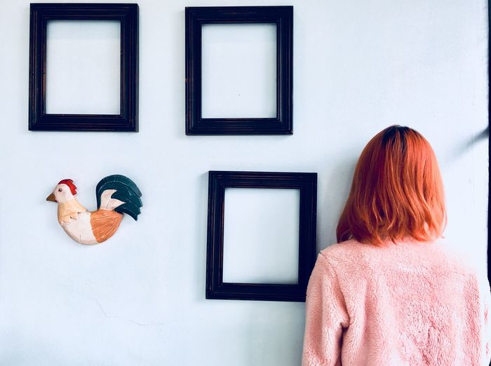 The Creative - 2018 EyeEm Awards The Portraitist - 2018 EyeEm Awards Childhood Art And Craft Redhead Portrait