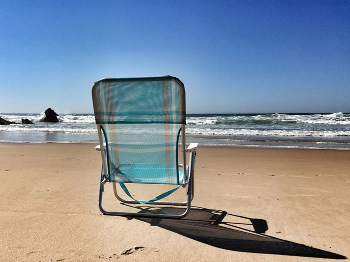 Chief of the Beach Beach Chair Lonely Beach Life Is A Beach Being A Beach Bum Sea Costa Vicentina Portugalcomefeitos Portugal_lovers