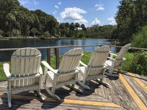 Perfect place to enjoy the springs Silver Springs State Park Silver Springs Florida Florida Park Relaxation Reflection Tranquil Scene Spring Water Florida Nature Relaxing View Relaxing In The Sun