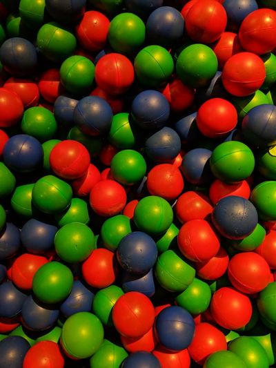 Ball Balls Rubber Rubber Ball Multi Colored Backgrounds Full Frame Red Abstract Celebration Close-up Green Color Pool Ball