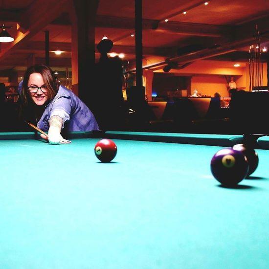 Thats Me  EyeEm Best Shots - People + Portrait Billiards Getting Inspired Gaming Time Eyeem Selfie The Week Of Eyeem