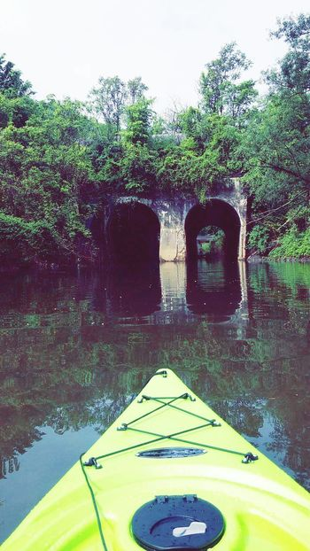Be adventurous! Theres no telling where it will take you! Kayaking Nature Water Reflections