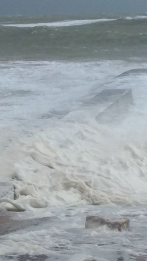 Sea Bad Weather Not Impressed