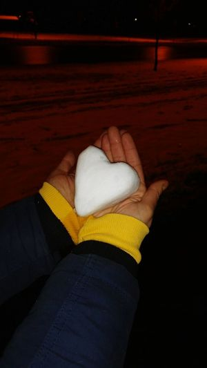 heart Snow Winter December Hands Heart Road Night Heart On Snow Heart On Hand White Heart Ice Rink Women Close-up Frozen Snow Covered Cold Cold Temperature Snowfall