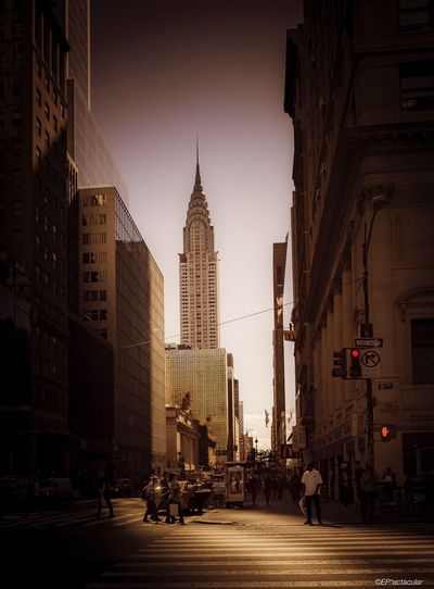 """Afternoon in Manhattan"" by www.epectacular.com #nyc #ny #travel #art #artgallery #fineart #chrysler #building #amazing #beauty Architecture Artgallery Fineart Art Outdoors Building Exterior City City Life Travel Destinations Travel"