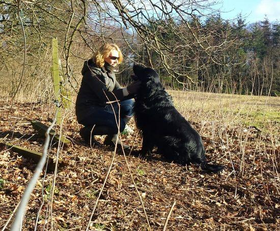 Adventure Buddies Flatcoated Retriever Paws For Thought Dog Pet Photography  Lovemelovemydog Scottishrowan Showcase: January