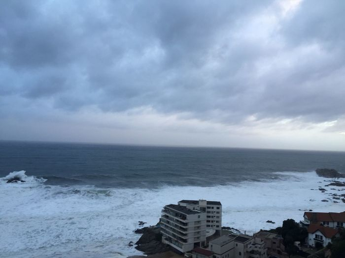Morning Sunday Waves, Ocean, Nature Waves Building And Sea Waiting For The Rain Winter Sky Grey Sky Grey Clouds Sky And Clouds Sea And Sky Seascape From My Point Of View Wintertime Beauty In Nature
