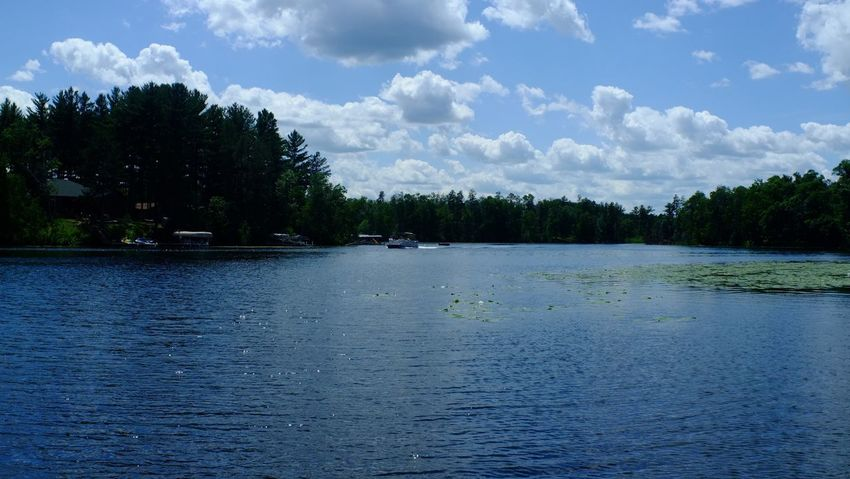 Lake Country Minnesota Beauty In Nature Cloud - Sky Day Lake Nature No People Outdoors Pequot Lakes Rippled Scenics Sky Tranquil Scene Tranquility Tree Water Waterfront