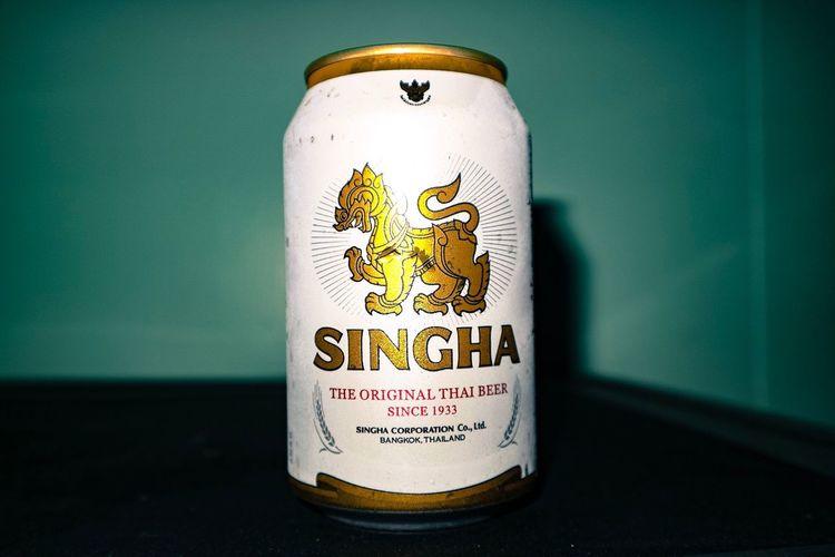 Beer singha Can First Eyeem Photo Beer Singha Beercan