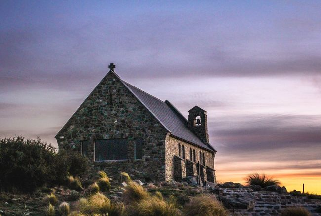 Chasing sunset in Tekapo at the Church of the Good Shepherd NoEditNoFilter Check This Out EyeEm Masterclass Getting Inspired Seeing The Sights Popular Photos On The Road Capture The Moment For My Friends That Connect Ladyphotographerofthemonth My Sky Obsession... Sky_collection Tadaa Community Streamzoofamily Sunsets Church EyeEm Best Shots Showcase: December Mybestphoto2015 From Where I Stand No People Sunrise N Sunsets Worldwide  EyeEm Best Shots - Sunsets + Sunrise Eye4photography  Canon