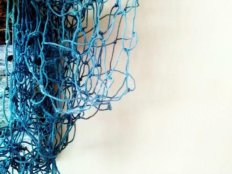 Net Netting Fish Netting Blue Wall Pop Of Color Wall Art Hanging Up Macro Macro_collection Eye Em Best Shots Eye Em Nature Lover Eye Em Portraits