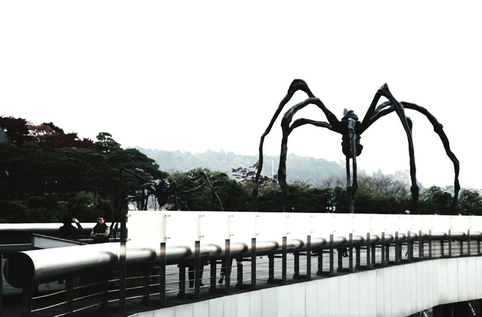 Cityscapes Maman In Seoul The Artist Louise Bourgeois
