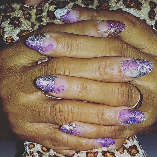 Stilettonails Purplenails Pearl