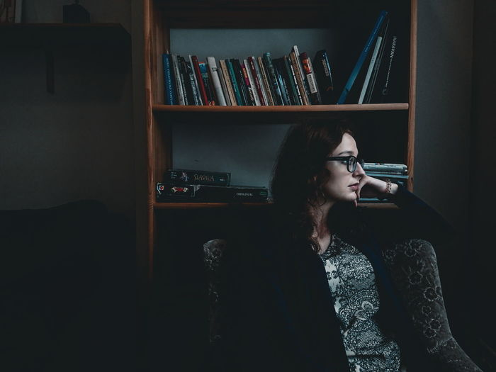 The pensive