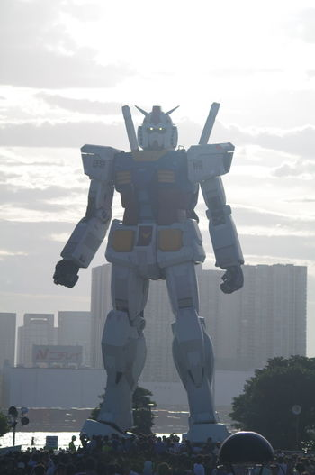 MOBILE SUIT GUNDAM 2009/07/25 Gundam Cityscapes Urban Landscape Snapshot Clouds And Sky Sky And Clouds Enjoying Life Light And Shadow