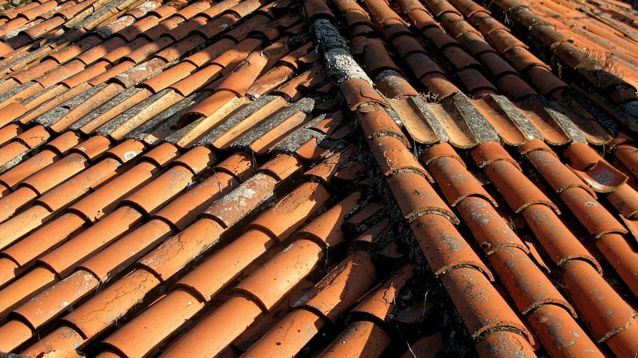 Close-Up Of House Roof