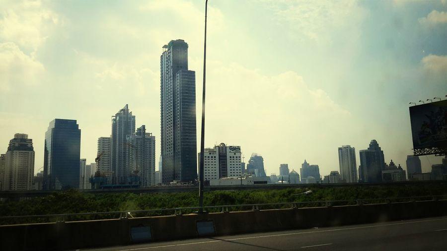 Bangkok city of life! Bangkok Bangkok Sky Sky And City Skyline