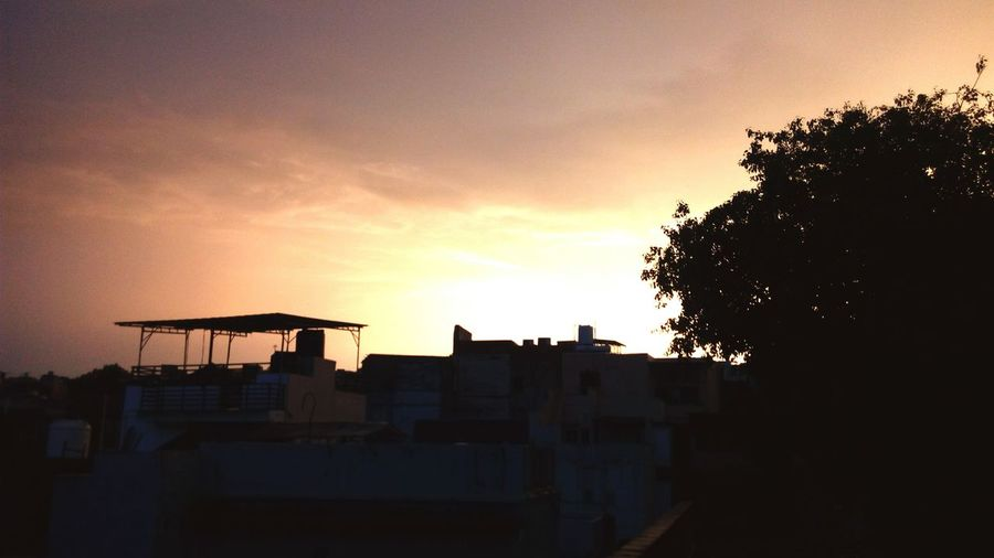 Sunset Nature Jodhpur Rajasthan Rooftop Photography Rainy Days☔ Beauty In Nature EyeEm Selects