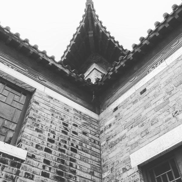 Black & White Old Buildings