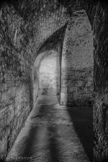 Ancient Arch Architectural Column Architecture Building Built Structure Corridor Day Diminishing Perspective Empty Historic History Long Narrow No People Old The Past The Way Forward Travel Destinations Tunnel Vanishing Point Walkway